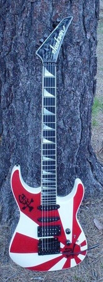 Jackson Soloist - Image: Soloist 1985