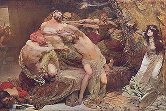 Solomon Joseph Solomon - Samson (1887)