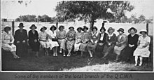 Some members of the Millmerran Country Womens Association, 1933.jpg
