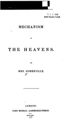 Somerville Mechanism of the heavens.djvu