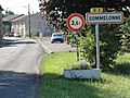 Sommelonne (Meuse) city limit sign.jpg