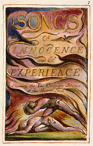 Songs of Innocence and of Experience - Songs of Innocence and of Experience Showing the Two Contrary States of the Human Soul title page
