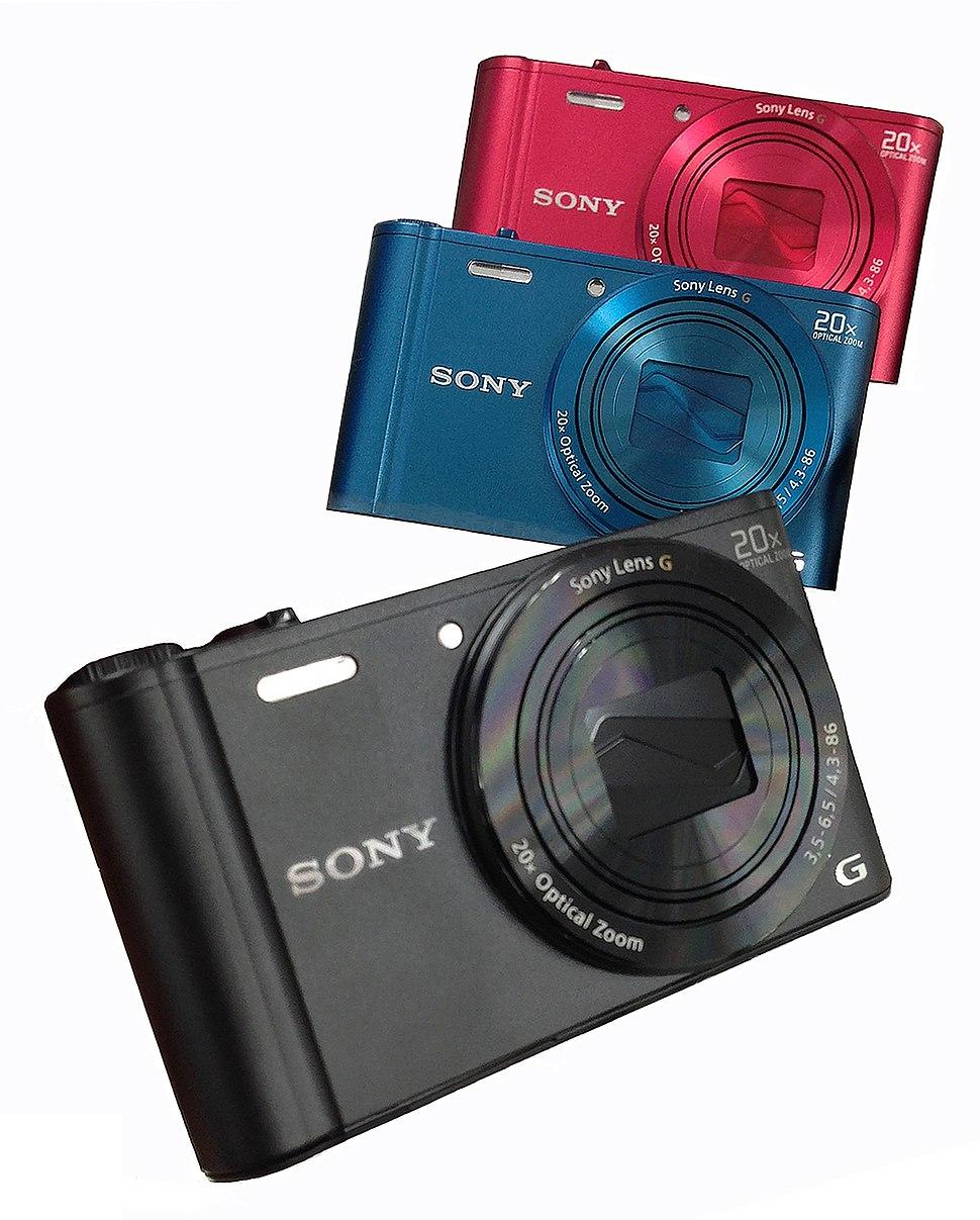 Sony Cyber-shot DSC-WX300 in verschillende kleuren, -23 Mar. 2013 a