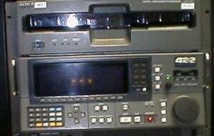 D-1 (Sony) - Sony DVR-2000 D1 VCR