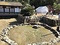Sotobaishi Stone in Itsukushima Shrine.jpg
