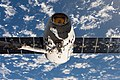 SpaceX CRS-11 Dragon grappled by the ISS Canadarm2 (ISS052e000442).jpg