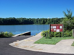 Spencer Lake is available for recreation