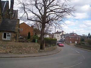 Spinkhill - Image: Spinkhill Village