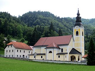 Špitalič, Kamnik - Saint Anthony the Hermit Church
