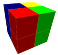 Square 4-color prismatic honeycomb.png