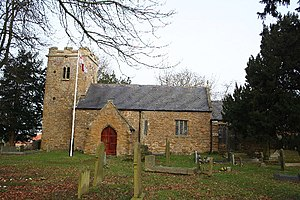 Bradley, Lincolnshire - Image: St.George's church, Bradley, Lincs. geograph.org.uk 111422