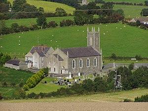 Annaclone - St Colman's Church, Annaclone, in 2007