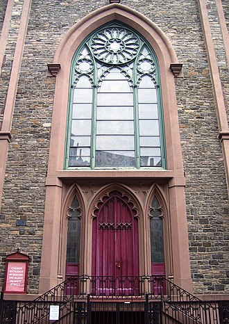 St. Patrick's Old Cathedral - The Mulberry Street entrance