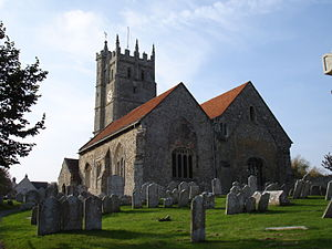 St Mary's Church, Carisbrooke - St. Mary's Church, Carisbrooke