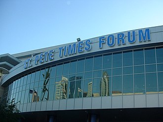 Amalie Arena - Image: St Pete Times Forum