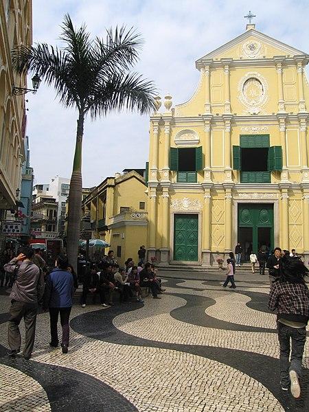 マカオの世界遺産・聖ドミニコ広場
