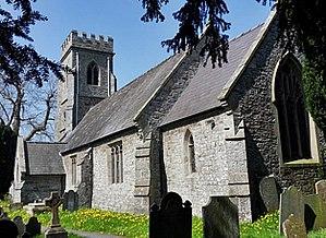 Aberhafesp - Image: St Gwynog's church geograph.org.uk 2372915