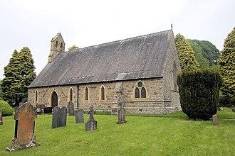 Pontrobert - Image: St John The Evangelist church Pontrobert geograph.org.uk 1339085
