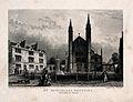 St Katharine's Hospital, Regent's Park, London; seen from th Wellcome V0013621.jpg