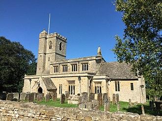Bledington - Parish church of Saint Leonard in the village of Bledington