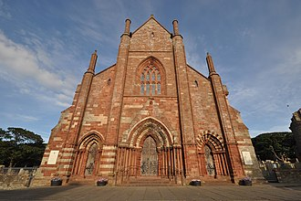 St Magnus Cathedral - Main entrance