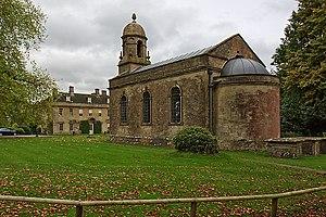 Babington House - Church of St Margaret and Babington House