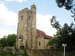 St Martin's Church, Church Road, Ryarsh, Kent - geograph.org.uk - 1314834.jpg