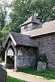 St Mary Magdalene, Turnastone, Heref - Porch - geograph.org.uk - 346079.jpg