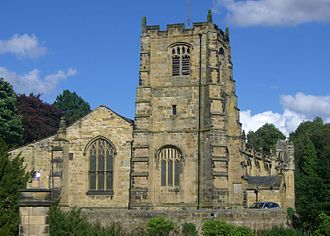 Grade I listed buildings in Northumberland - Image: St Michael's Alnwick 1