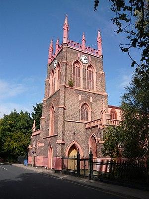 St Michael's Church, Aigburth - Image: St Michael's South West view Aigburth