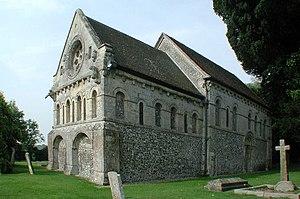Barfrestone - Image: St Nicholas' Church, Barfrestone