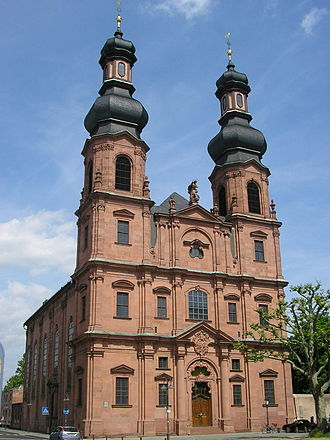 St. Peter's Church, Mainz - St. Peter's Church from the southwest