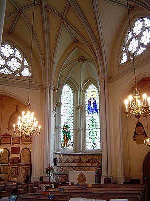 St Bartholomew-the-Less - Interior of St Bartholomew the Less