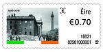 Stamp Ireland 2016 centenary Easter Rising-destroyed GPO.jpg