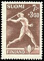 Stamp of Matti Järvinen 1945.jpg