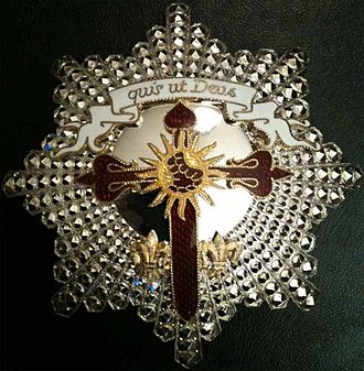 Order of Saint Michael of the Wing - Star of a Knight Commander of the Order of Saint Michael of the Wing.