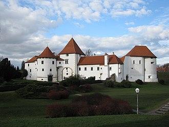 Varaždin - Varaždin Castle in the Old Town.
