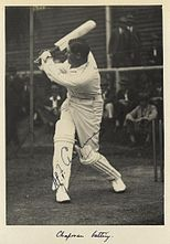 StateLibQld 1 233108 Autographed photograph of the test cricket batsman, Chapman, 1928.jpg