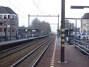 Houten railway station - Image: Station Houten, perrons