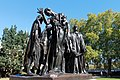 Statuary group of the Burghers of Calais Listed Grade I 02.jpg