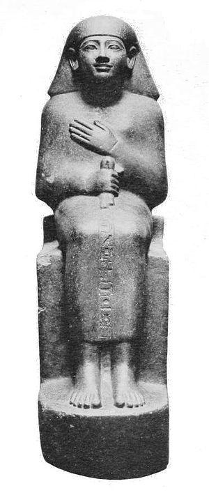 Second Prophet of Amun - Image: Statue Menkheperraseneb EA708 Budge