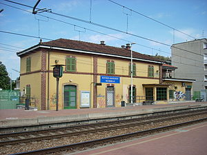 Bovisio Masciago-Mombello railway station - Image: Stazione Bovisio Masciago