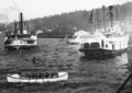 Steamers at Astoria regatta 1895.png