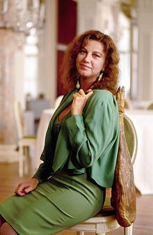 Stefania Sandrelli nel 1992 alla 49ª Mostra internazionale d'arte cinematografica di Venezia