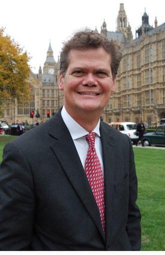 Stephen Lloyd - Lloyd outside parliament in March 2013