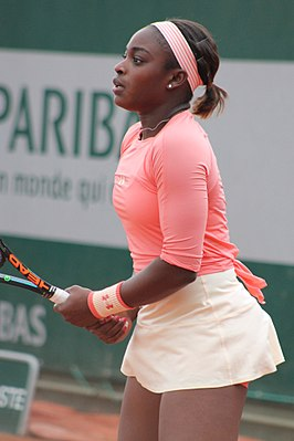 Winnares in het enkelspel, Sloane Stephens