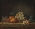 Still Life with Brioche, Fruit and Vegetables (Anne Vallayer-Coster) - Nationalmuseum - 29168.tif