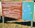 Stjosephpeninstateparkflsign.jpg