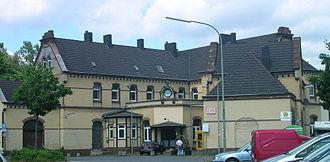 Stolberg (Rhineland) - Main railway station