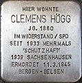 Stolperstein Augsburg Hoegg Clemens.jpg